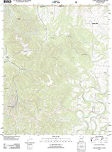 2012 Eureka Springs, AR - Arkansas - USGS Historical Topographic Map : 44in x 55in