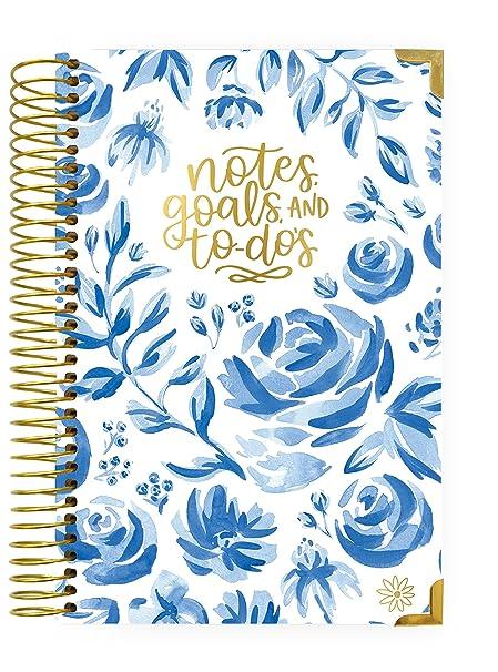 Bloom Planificadores diarios - Cubierta rígida para agenda ...