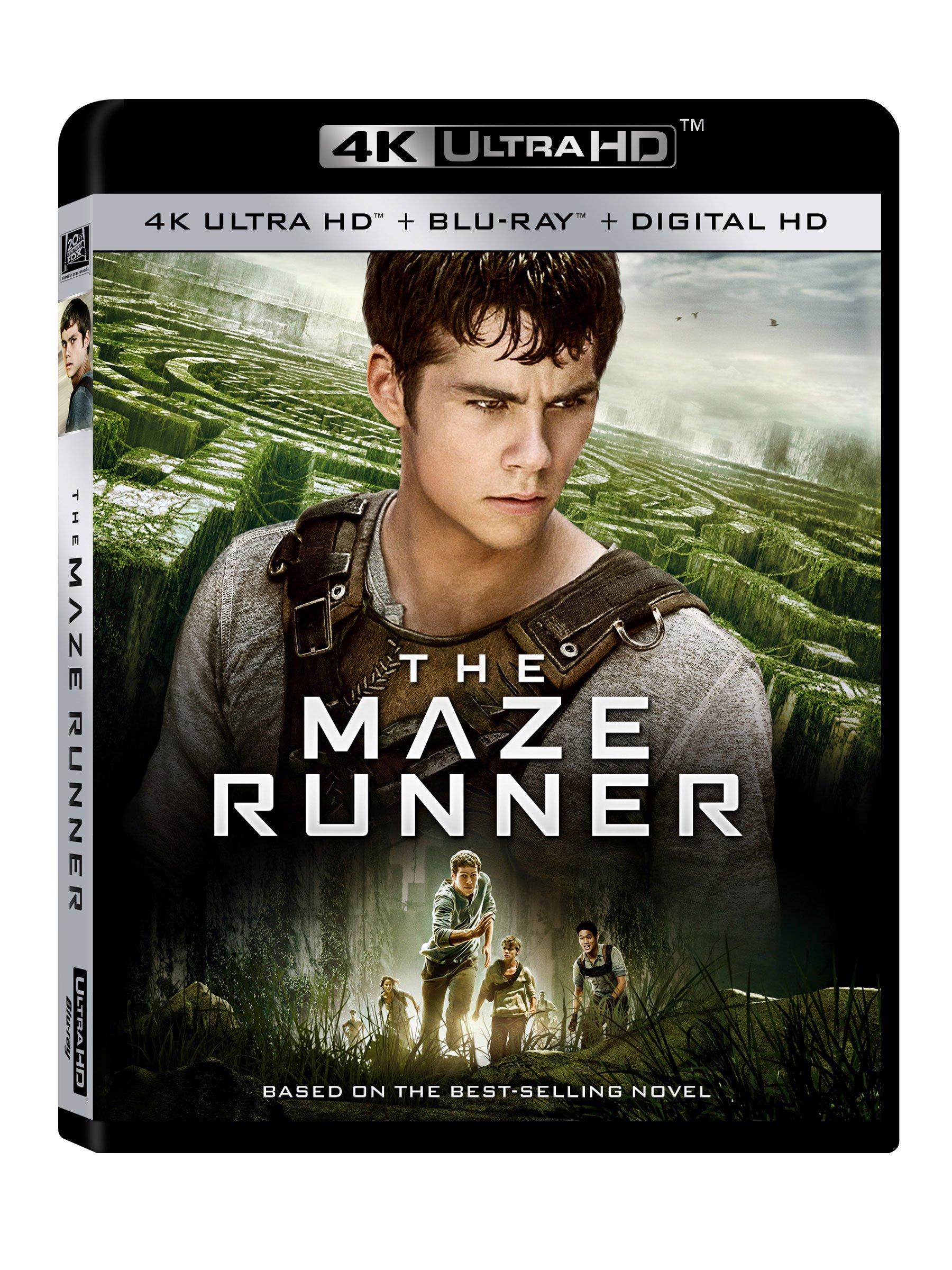 4K Blu-ray : The Maze Runner (Digitally Mastered in HD)