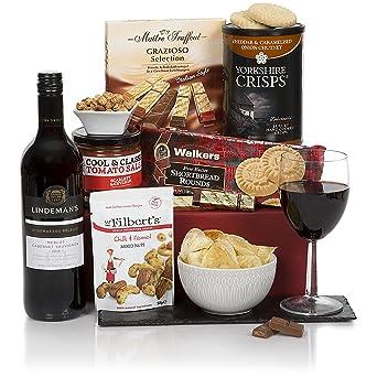 Red wine gift hamper for him mens hampers gift baskets for red wine gift hamper for him mens hampers gift baskets for him birthday negle Gallery