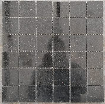 Granit Mosaik Matte Star Galaxy Schwarz 30x30 cm Poliert ...