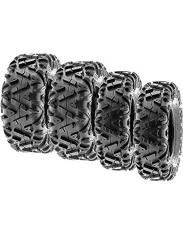 SunF Power.I ATV/UTV all-terrain Tires 25x8-12 Front &