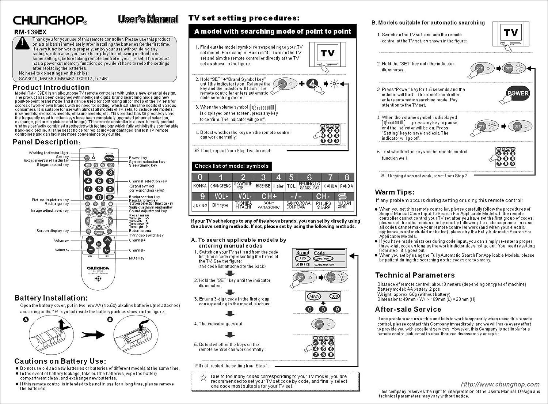 Universal de control remoto del televisor 3-Way de búsqueda fácil ...