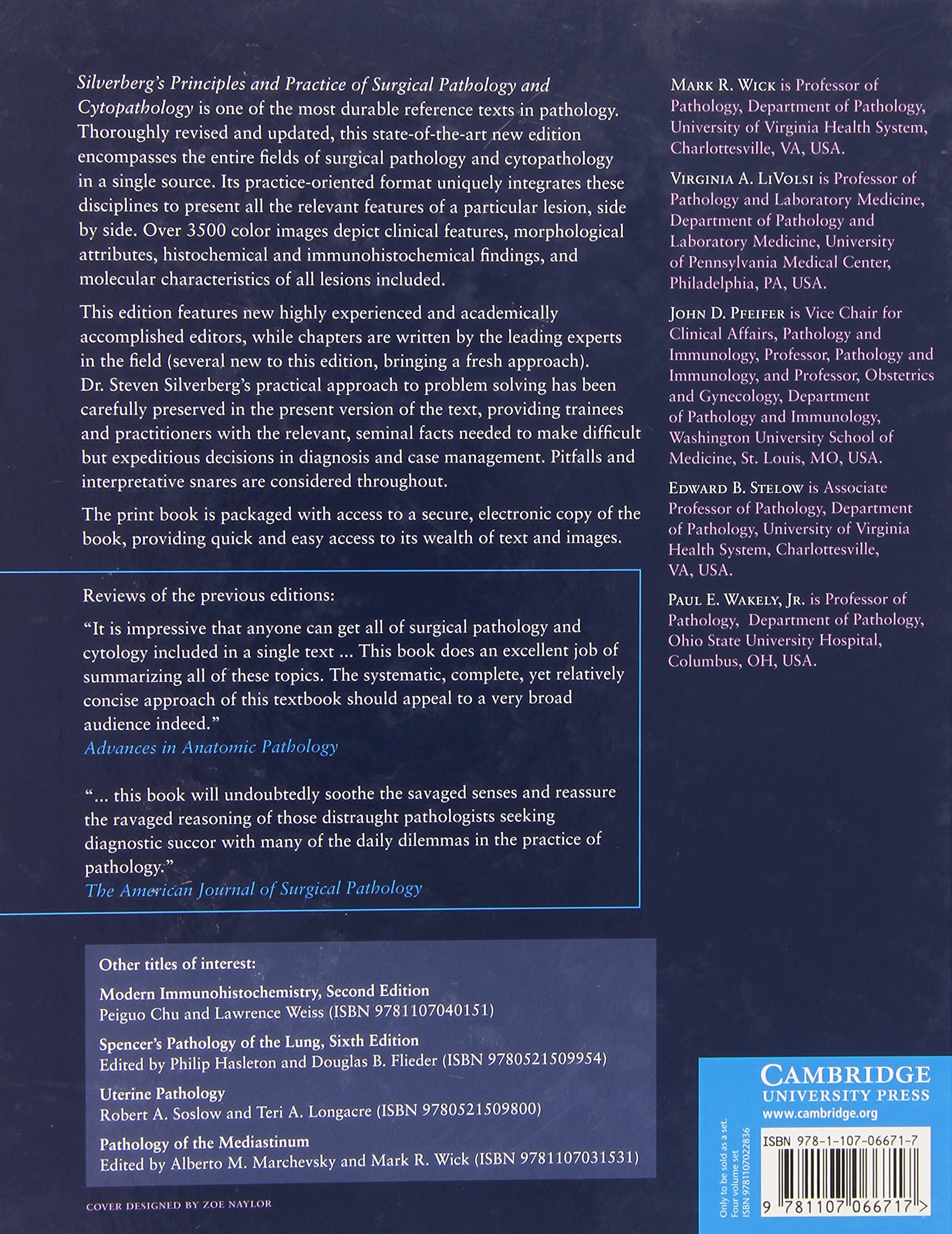 Silverberg's Principles and Practice of Surgical Pathology