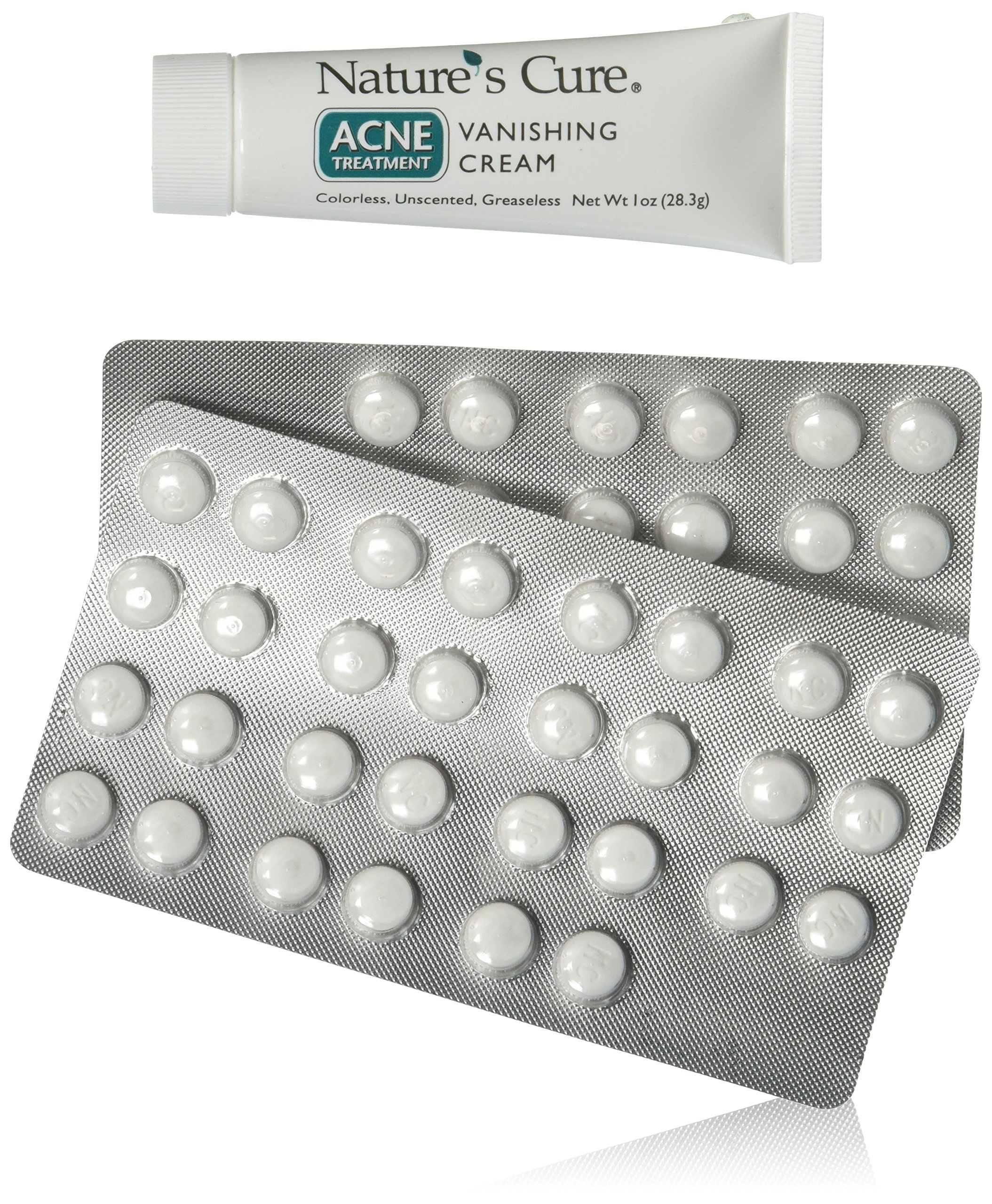Natures Cure Acne Pills
