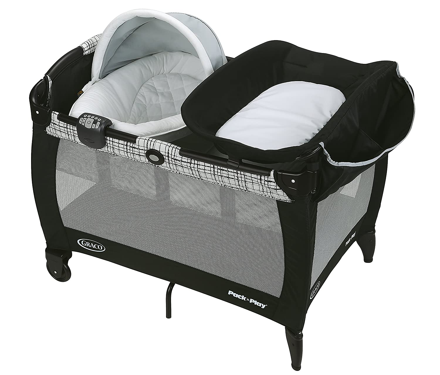 Graco Pack 'n Play Newborn Napper Oasis with Soothe Surround Technology, Teigen Graco Baby 2000719