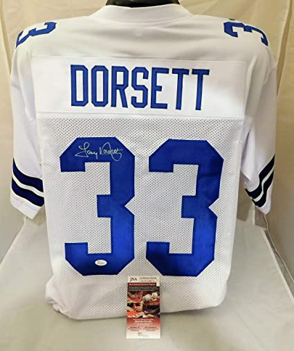 Image Unavailable. Image not available for. Color  TONY DORSETT Signed  Autographed Dallas Cowboys Authentic Style Jersey JSA COA 266fa676a