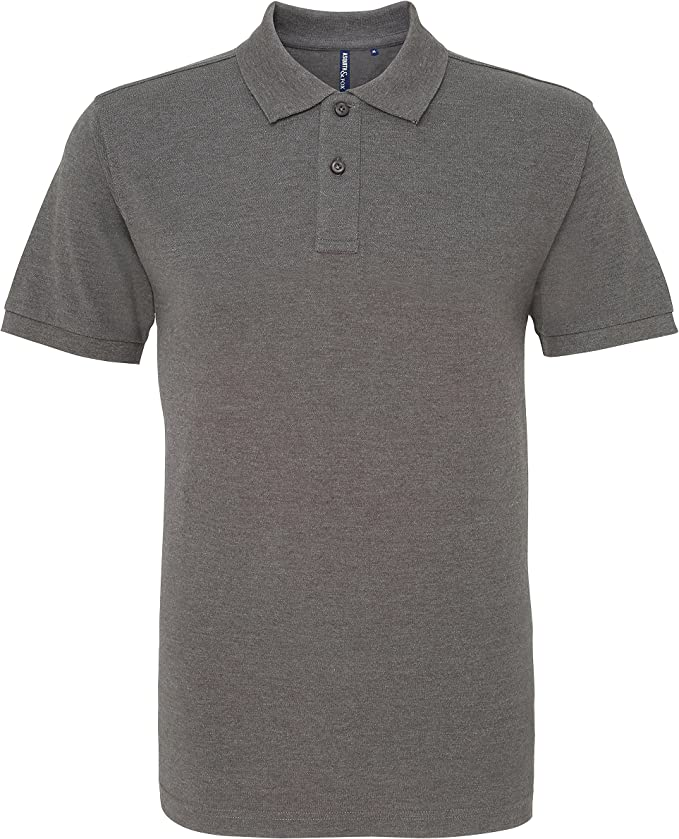 Asquith & Fox Asquith and Fox Mens Polo, Gris (Charcoal 000 ...