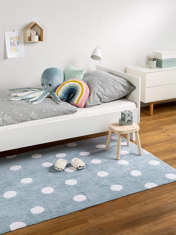 Benuta Kinderteppich Bambini Bambini Bambini Dots, Baumwolle, Rosa, 120 x 180.0 x 2 cm B01D4T5VPM Teppiche & Lufer 9afe9e