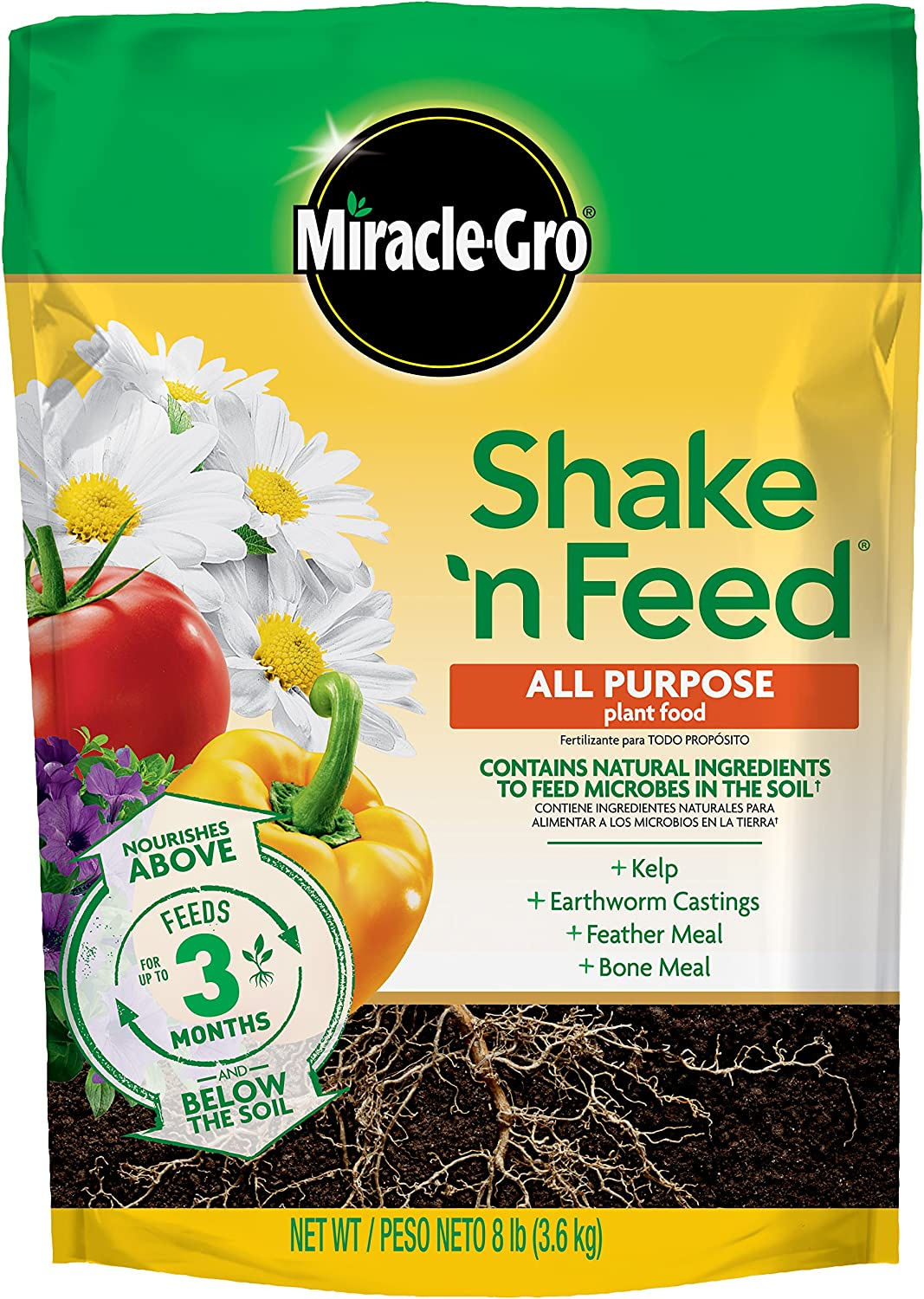 Miracle-Gro 3002010 Shake 'N Feed All Purpose Continuous Release Plant Food Refill Bag