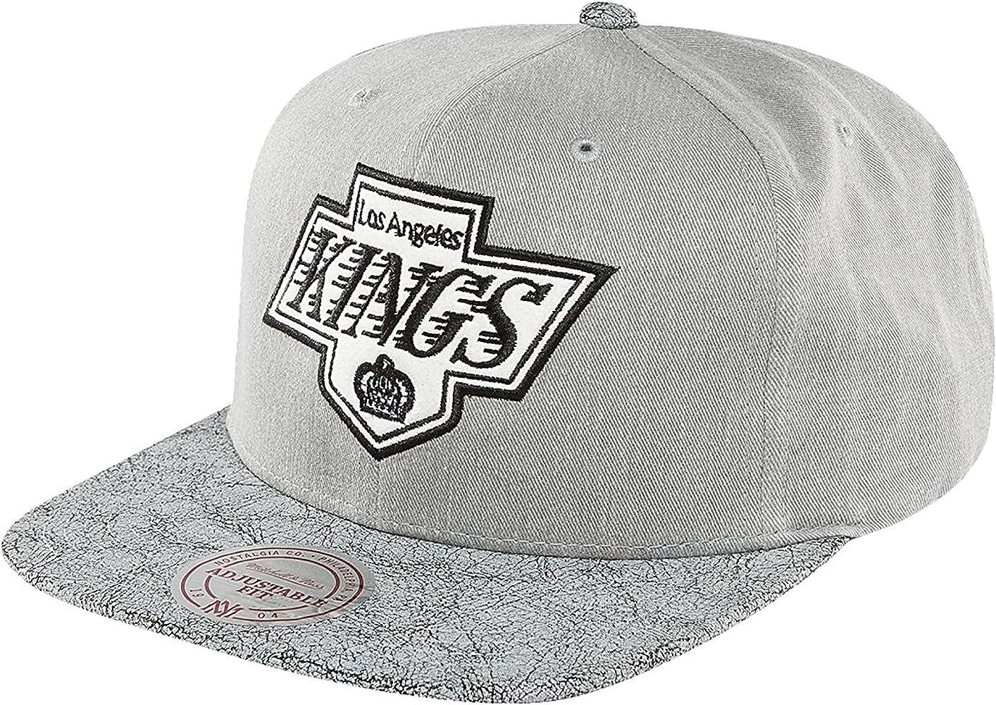 Mitchell & Ness Mujeres Gorras/Gorra Snapback NHL Cracked LA Kings ...