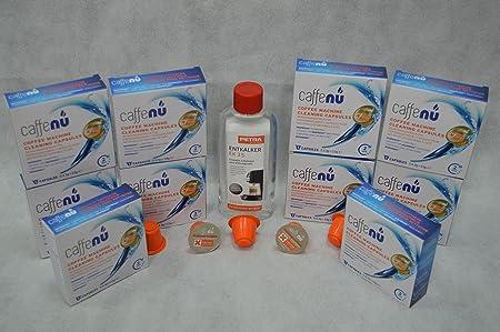 50 Limpieza de cápsulas caffenu® para su Cafetera Cafetera ...