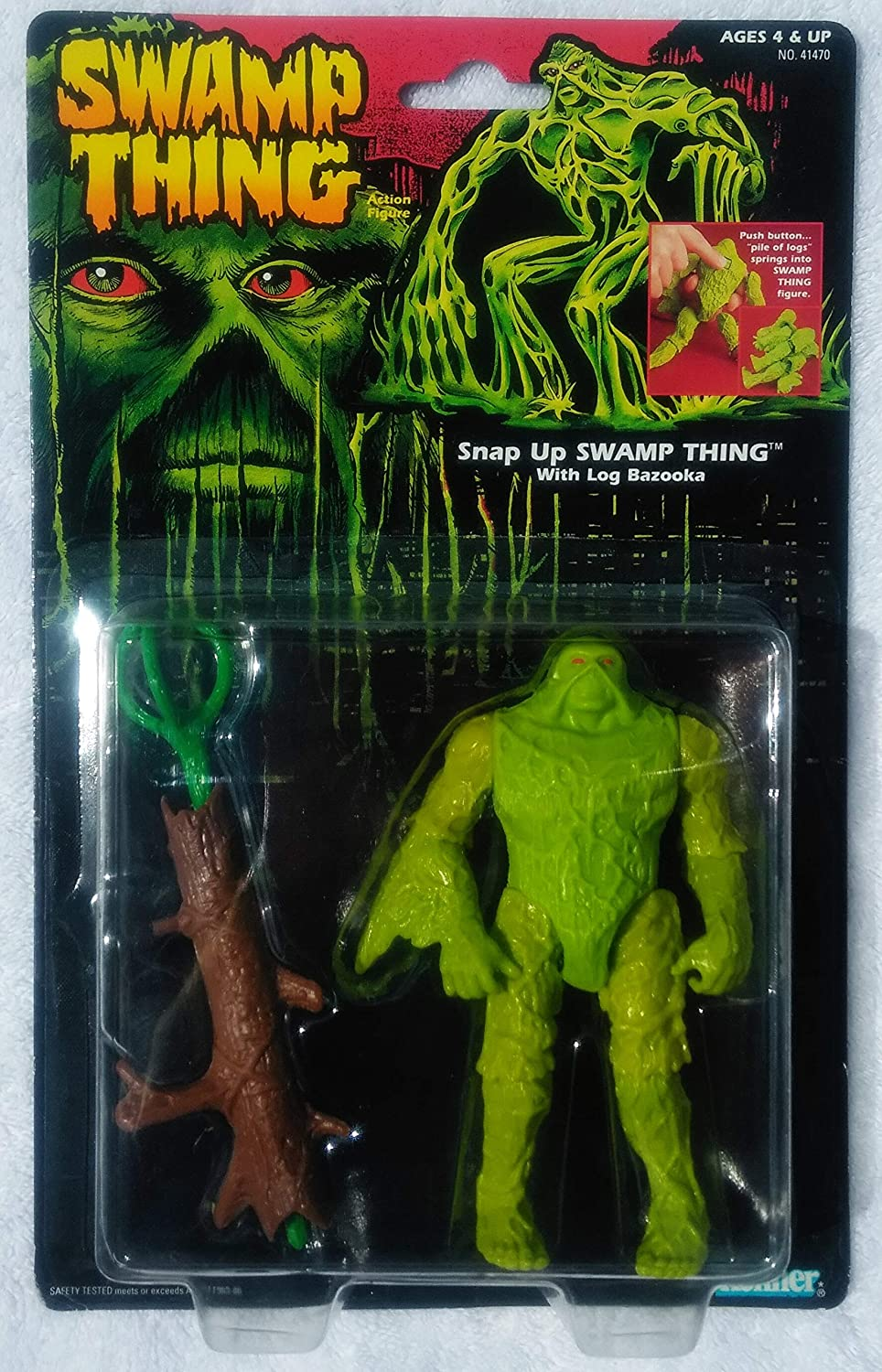 Snap Up Swamp Thing with Log Bazooka by DC: Amazon.es ...