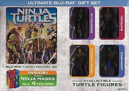 Amazon.com: Teenage Mutant Ninja Turtles (Blu Ray/DVD ...