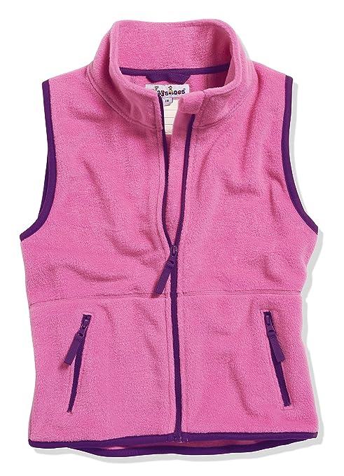 7c70de8625 Playshoes Baby Fleece-Weste, ärmellose Unisex-Jacke für Mädchen und Jungen  mit Reißverschluss und Kontrastnähten: Amazon.de: Bekleidung