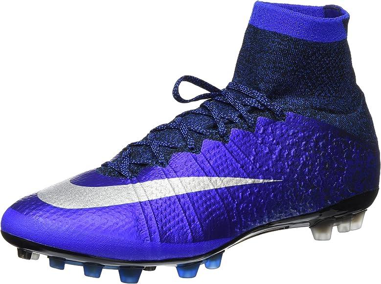 7fabbbf9236 Nike Acc Mercurial Superfly CR7 AG-R Blue Ronaldo Diamond 718778 404 ...