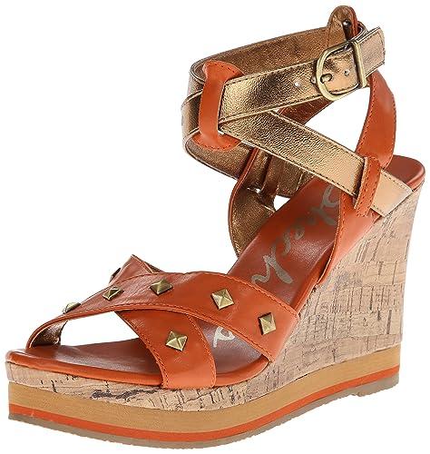 cc9ecef3c42 Skechers Cali Women s Bomb Shell Pop Art Wedge Sandal