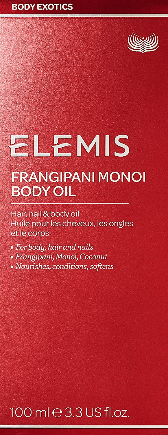 Elemis Exotic Frangipani Monoi Body Oil Hair Nail and Body Oil 100 ml