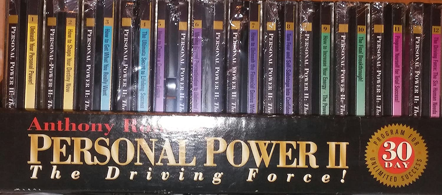 Anthony Robbins: Personal Power II - The Driving Force Box set