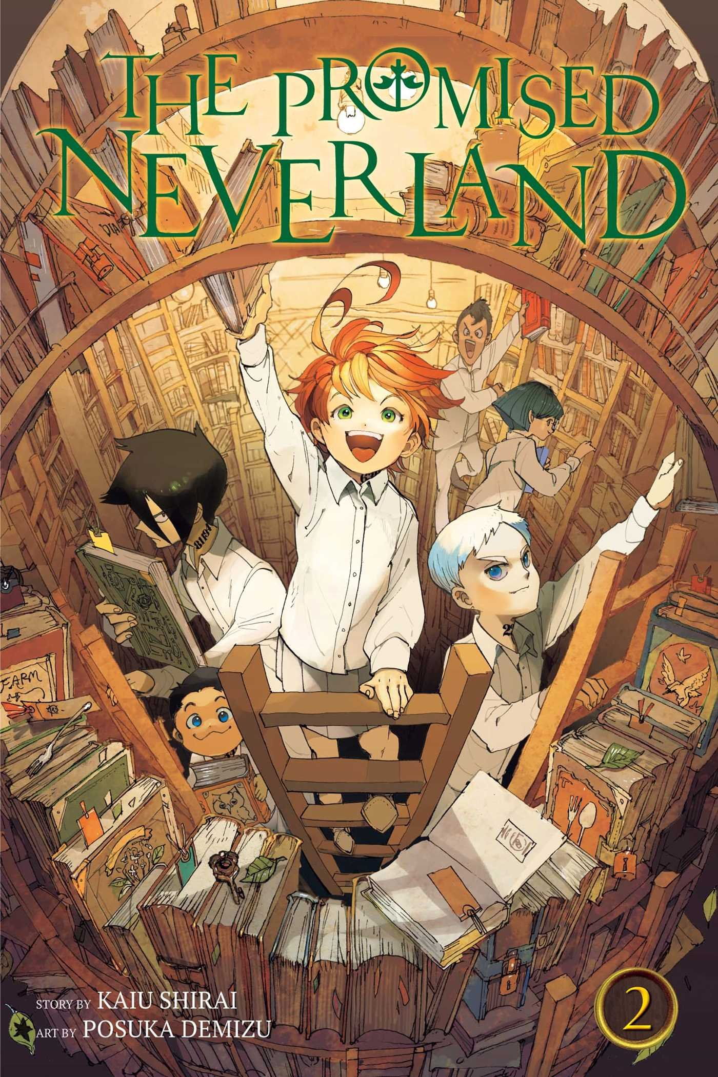 the promised neverland  : The Promised Neverland, Vol. 2 (9781421597133): Kaiu ...