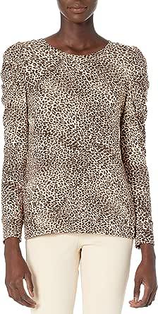 Daily Ritual Amazon Brand Women's Supersoft Terry Pleated-Sleeve Sweatshirt