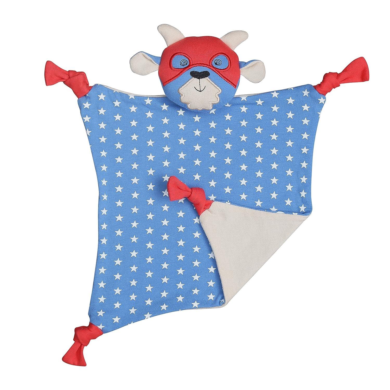 Apple Park Organic Farm Buddies - Super Go-T Blankie, Blanket Baby Toy for Newborns, Infants, Toddlers - Hypoallergenic, 100% Organic Cotton