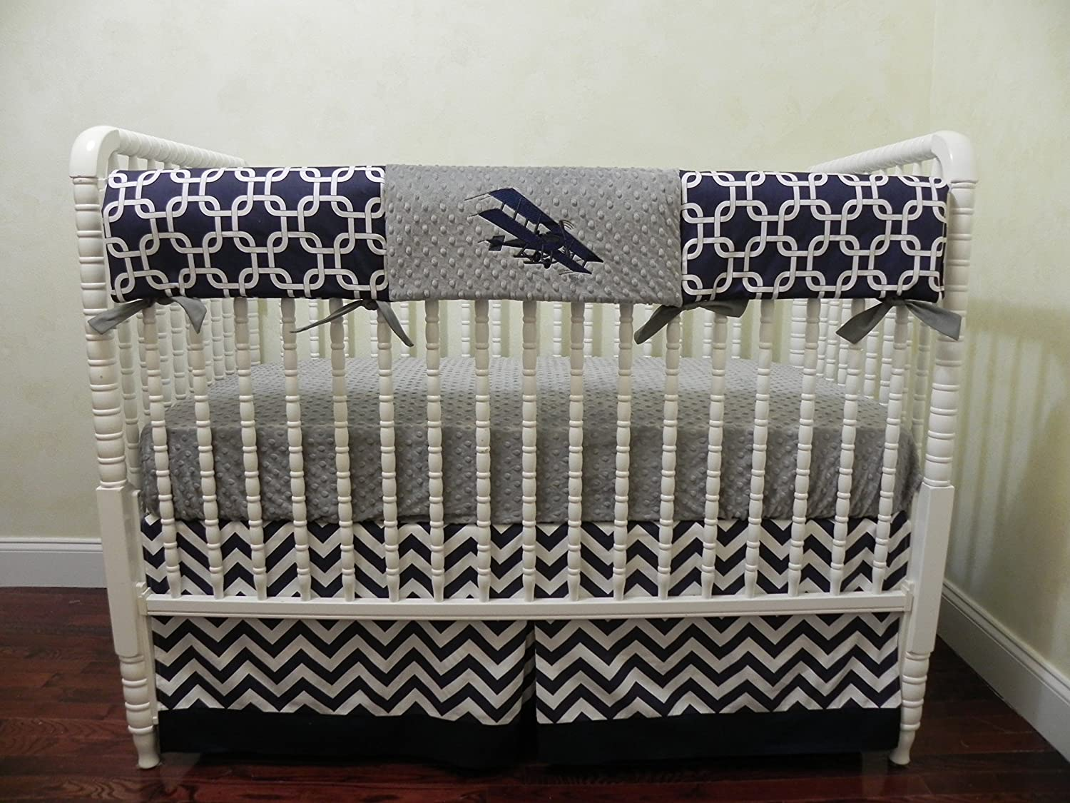 stained bed laudry with basket designer boys baby decorating on crib impressing wooden plus bedding table for set interior blue white side boy cr modern bedroom themed antique nautical combination born new