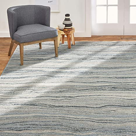 Home Dynamix Byron Daphne Contemporary Abstract Area Rug 7 8 X10 1 Gray Furniture Decor