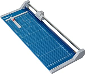 """Dahle 554 Professional Rolling Trimmer, 28-1/4"""" Cut Length, 20 Sheet Capacity, Self-Sharpening, Automatic Clamp, German Engineered Paper Cutter"""