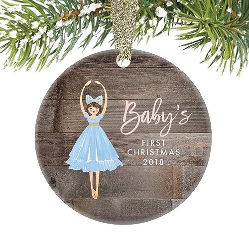 <b>Amazon</b>.com: Girl Babys First <b>Christmas</b> Ornament <b>2018</b>, Newborn ...