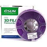 eSUN 1.75mm Purple ABS 3D Printer filament 1kg Spool (2.2lbs), Purple
