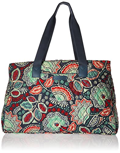 Amazon.com  Vera Bradley Luggage Women s Triple Compartment Travel ... a21184211241a