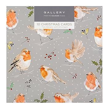 Gallery Christmas Card Pack Birds  Designs