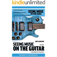 Seeing Music on the Guitar: A visual approach to playing music book cover