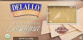 DeLallo Organic Whole Wheat FrozenLasagna