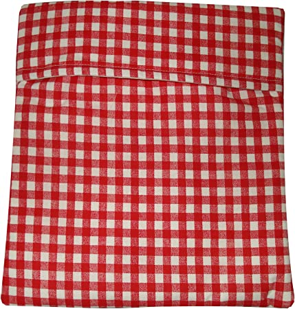 Amazon.com: Microondas – Bolsa para Patatas – Check Rojo y ...