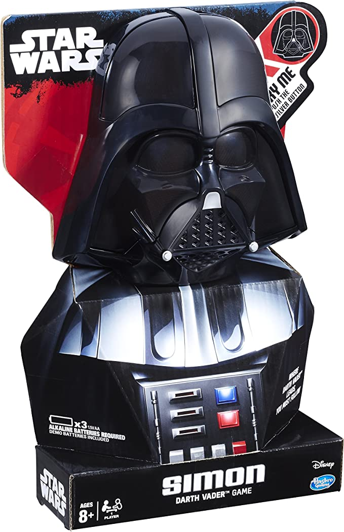 Hasbro Gaming C0949802 Simon Star Wars Darth Vader Game: Amazon.es ...