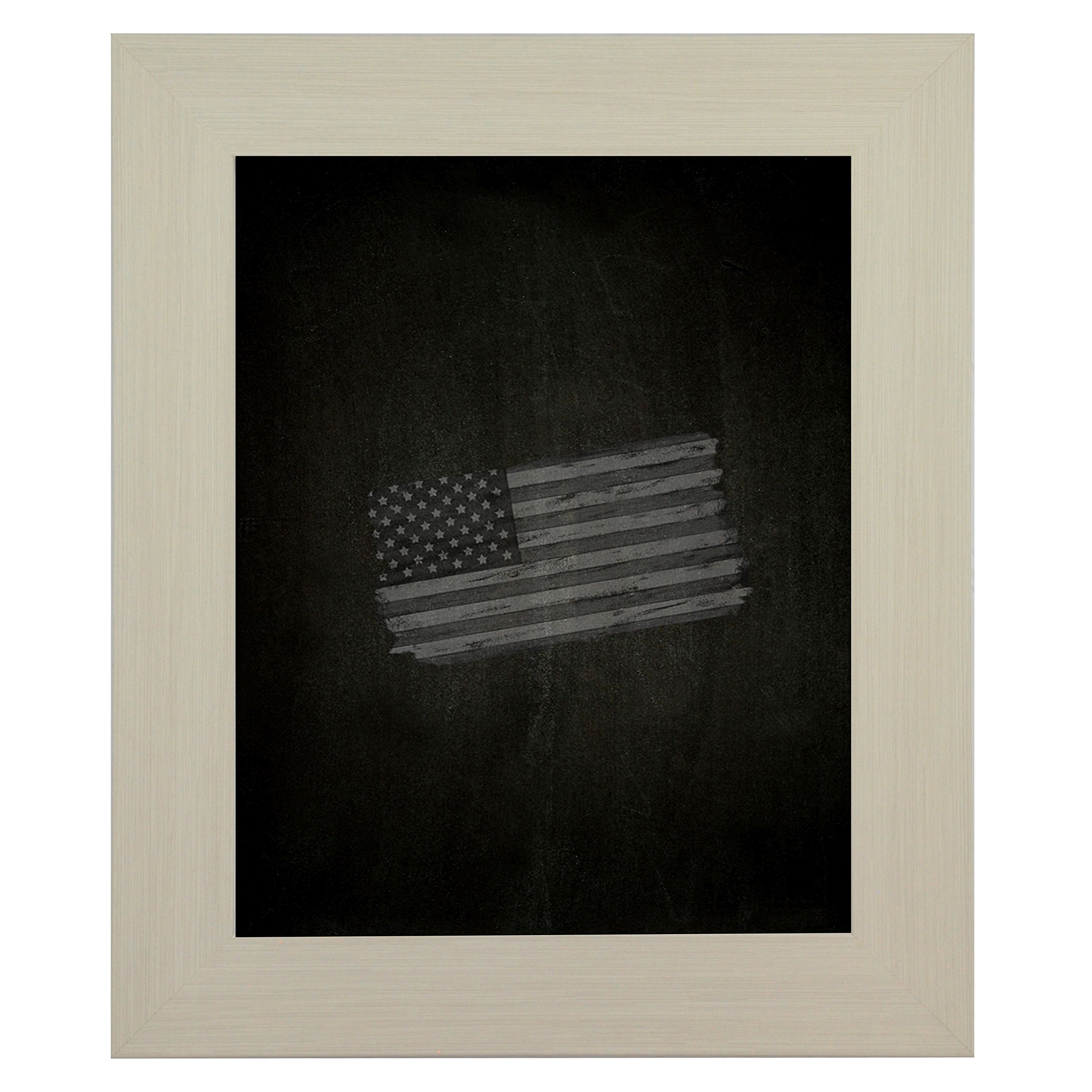 Rayne Mirrors American Made Rayne Arctic Ivory Blackboard/ Chalkboard Exterior Size: 36 x 54 by Rayne Mirrors