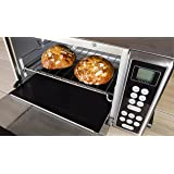 Kitchen + Home Toaster Oven Liner - Heavy Duty 100% PFOA & BPA Free - FDA Approved Non-stick Reusable Toaster Oven Liner