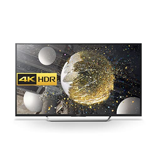 Sony Bravia KD49XD7005 49-Inch Android 4K HDR Ultra HD Smart LED TV with Youview, Freeview HD (2016 Model) - Black