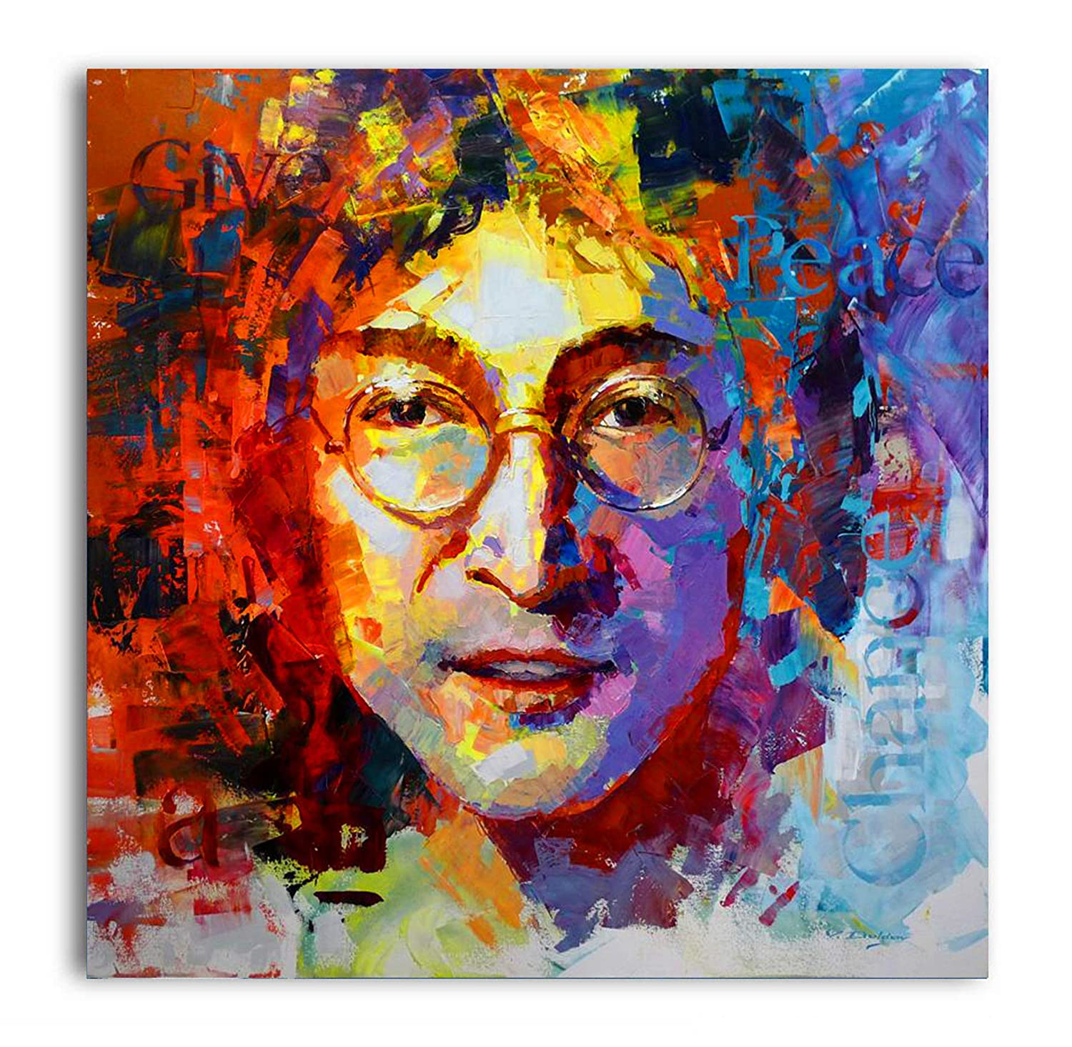 5dd170dca3a99 Tamatina Canvas Paintings - John Lennon - Abstract - Modern Art Paintings -  Paintings for Home Décor - Paintings for Drawing Room - Wall Paintings for  ...