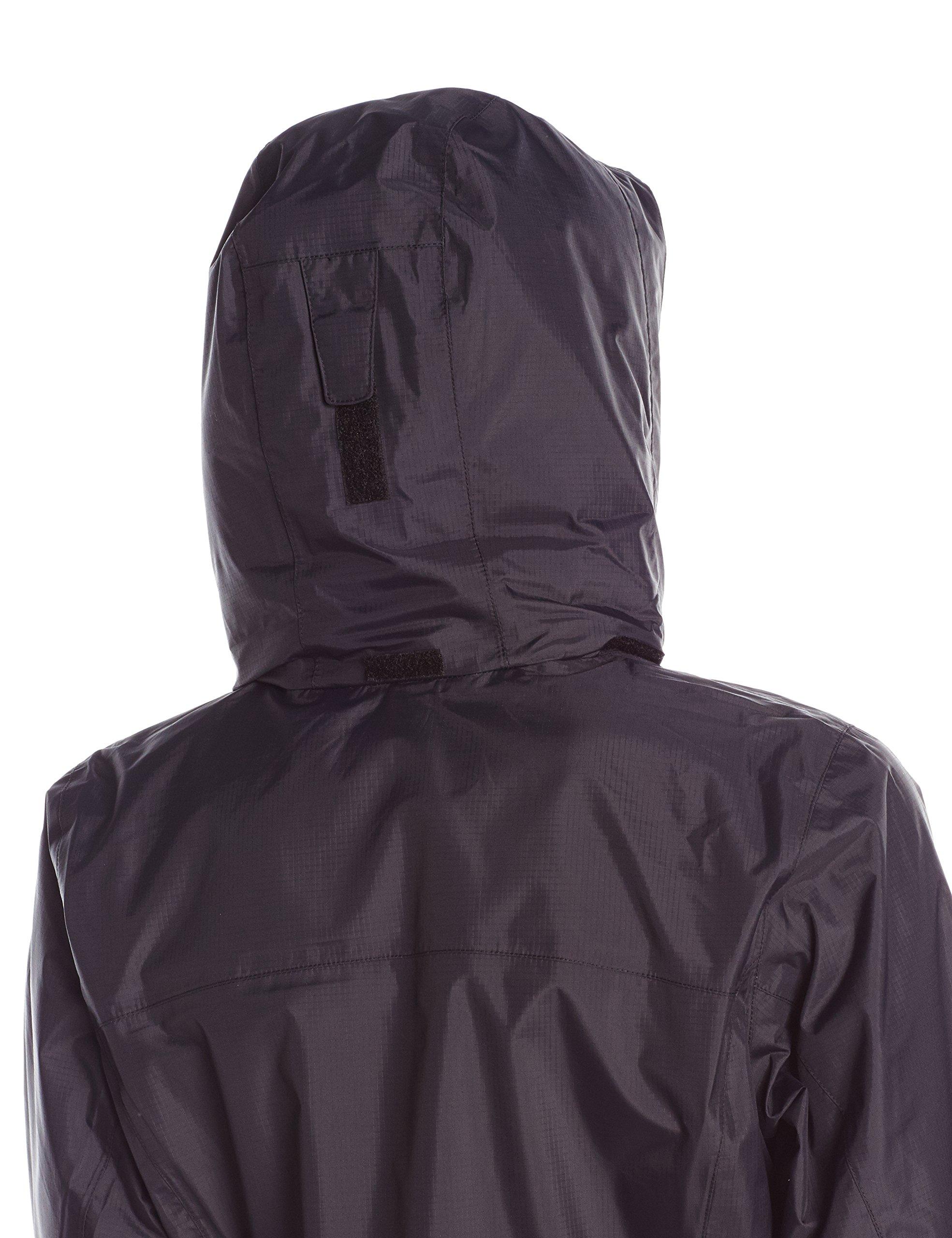 Columbia Women's Pouration Waterproof Rain Jacket, Medium, Black by Columbia (Image #3)