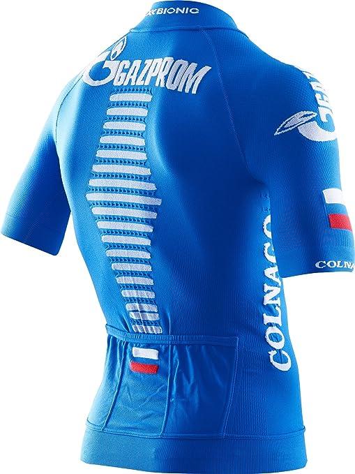 X-Bionic Maillot M c Evo Gazprom 2017 Team Gazprom 17 -Spring 2018-(O100879 T071)  - Negro - XL  Amazon.co.uk  Sports   Outdoors dc4359c0b