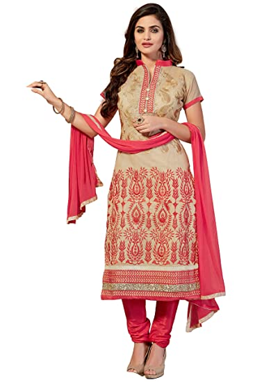 873d5c203a Manvaa Chanderi Women's Silk Dress Material (SMFEMR5509_Multicolour_Free  Size): Amazon.in: Clothing & Accessories