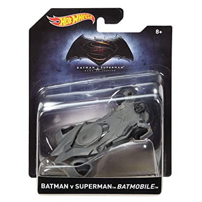 Hot Wheels Batman v Superman: Dawn of Justice Batmobile Vehicle: Toys & Games