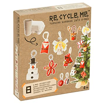 Re Cycle Me Defg1220 Recycling Bastelspaß Weihnachten Special
