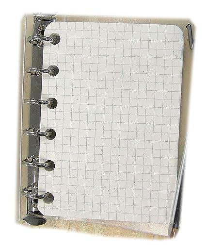 Repuesto/Recambio para Agenda A7 Pocket mini 8x12cm con 6 ...