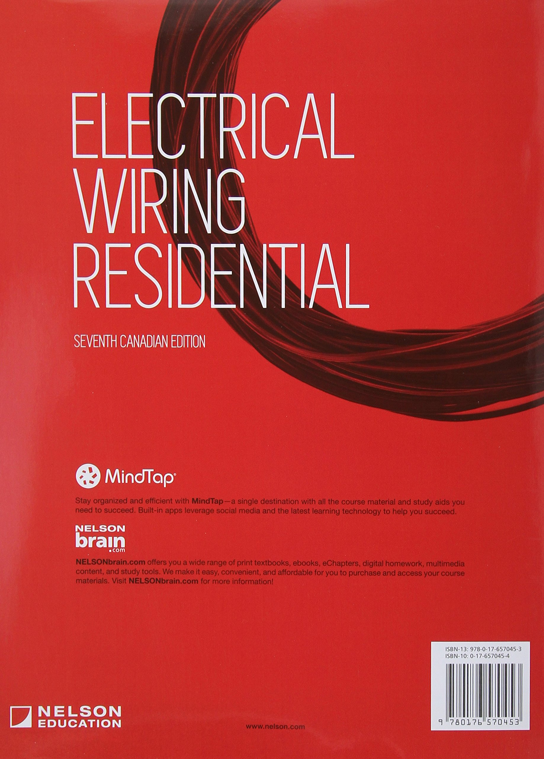 Pleasing Electrical Wiring Residential 9780176570453 Amazon Com Books Wiring Cloud Toolfoxcilixyz