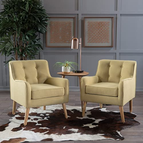 Christopher Knight Home Felicity Arm Chair, Wasabi