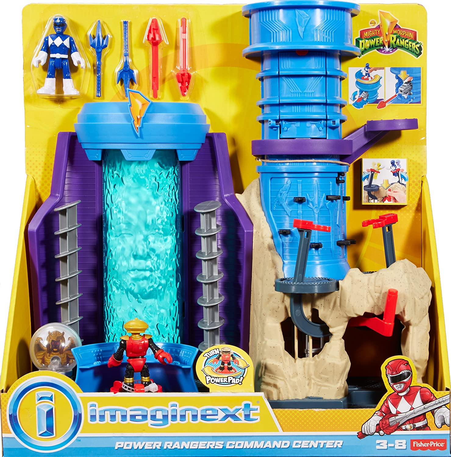 Buy Fisher Price Imaginext Power Rangers Command Center Online At Low  Prices In India   Amazon.in